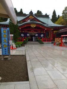 雨の護国神社